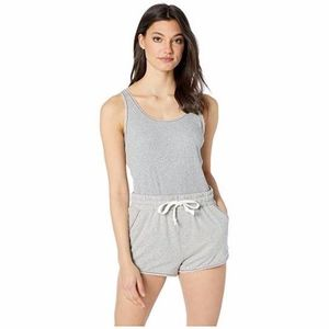 Free People Pants - NWT Free People Movement Red Hot Romper Grey S